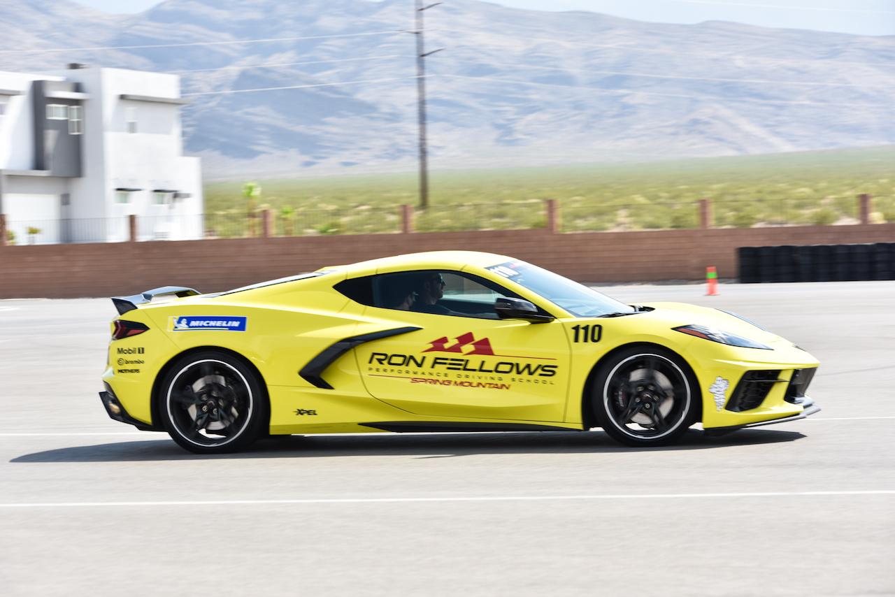 C8 Corvette Accelerate Yellow