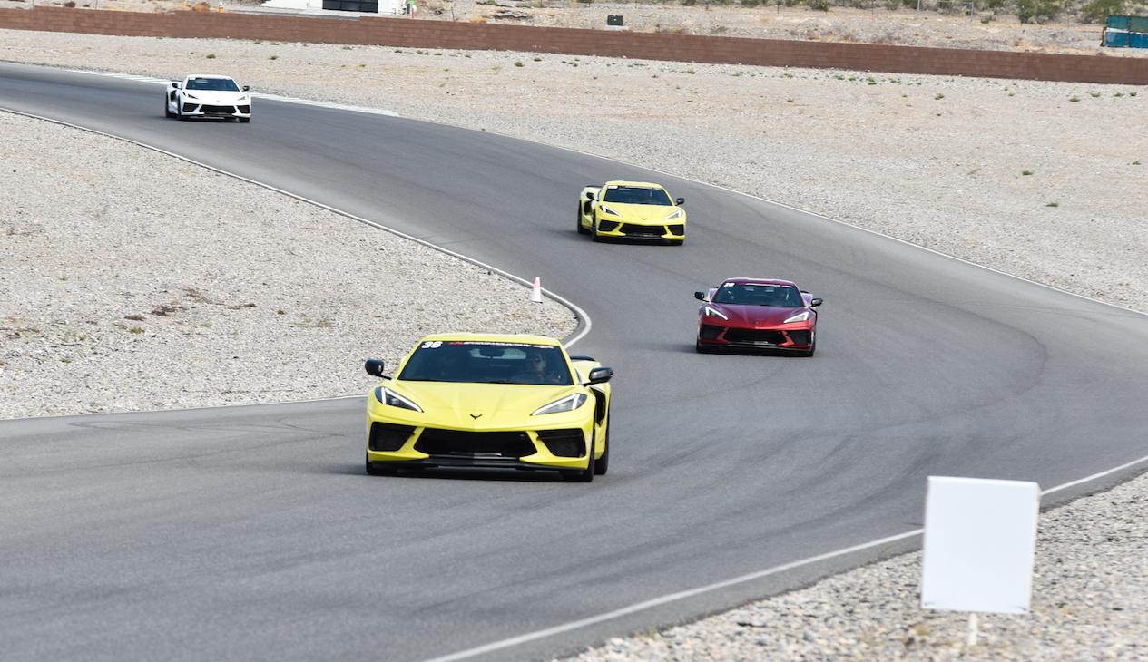 C8 Corvette Spring Mountain Motorsport Ranch