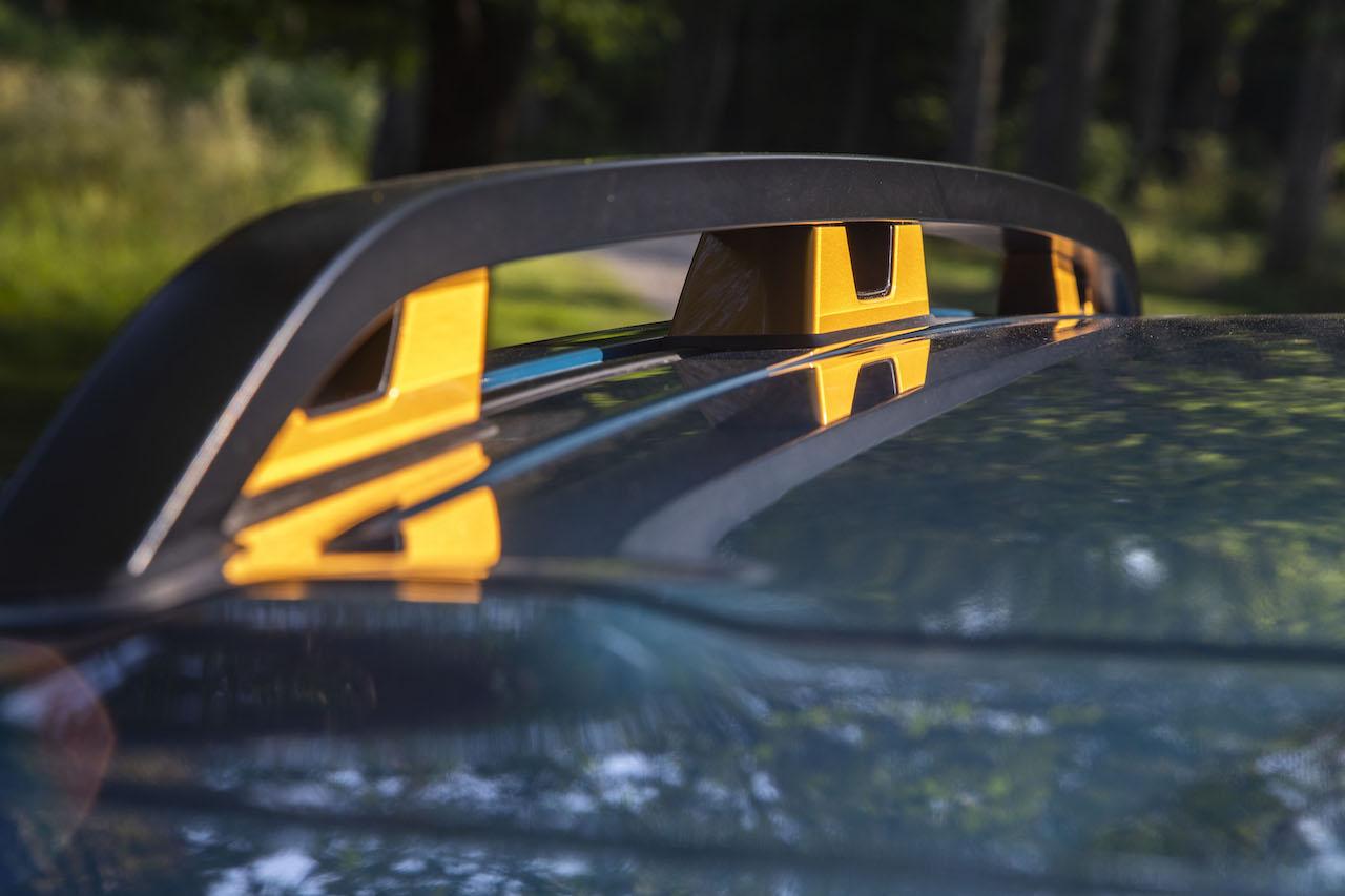2022 Subaru Forester Wilderness roof rails