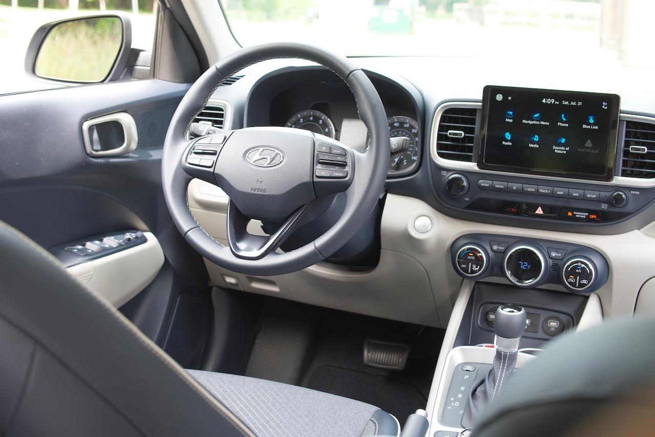 2021 Hyundai Venue Denim interior
