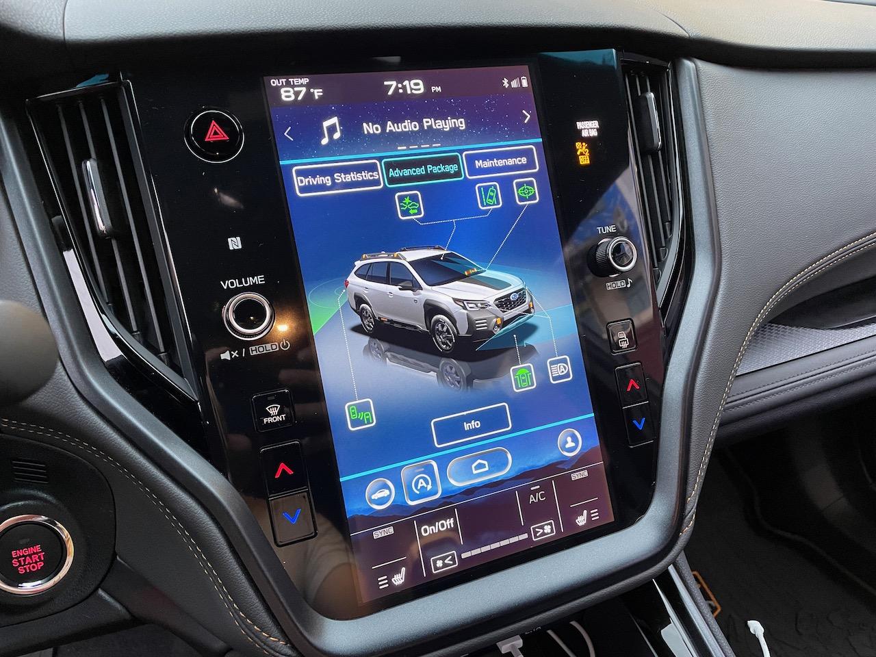 2022 Subaru Outback Wilderness StarLink