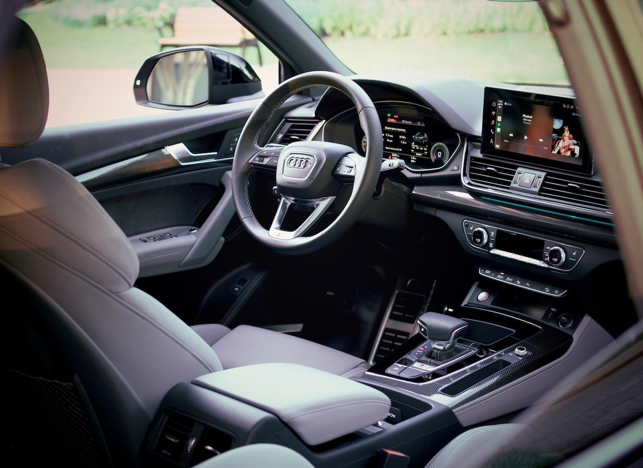 2021 Audi SQ5 Sportback gray interior